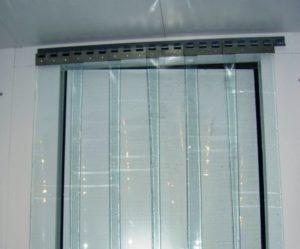 Полосовые ПВХ завесы для холодильных камер