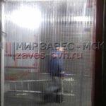 Монтаж полосовых завес ПВХ в морозильные камеры
