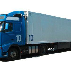 Завеса ПВХ для рефрижератора на фуре 20 тонн