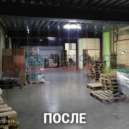Завесы ПВХ на складе