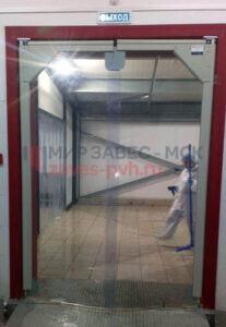 Маятниковые двери в Домодедово